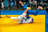 Competitions on Judo among Juniors — Stock Photo
