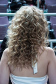 Details of ladies hairstyles — Foto de Stock