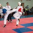 Stock Photo: Samoobronwithout arms - Taekwondo is Koremartial art