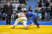 Wettbewerbe im Judo unter den Junioren 23.03.2013 — Stockfoto