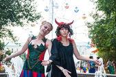 Dress up on Ivan Kupala day celebration — Stock Photo