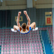 Trampolining Championship — Stock Photo