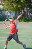 Tennis competition — Stock Photo
