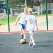 Tournament on mini-football — Foto Stock