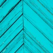 Angular blue strips of wood — Stock Photo
