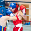 Competitions Boxing among Juniors — Stock Photo #33544839