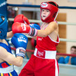 Competitions Boxing among Juniors — Stock Photo #33544841