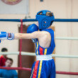 Competitions Boxing among Juniors — Stock Photo #33544845