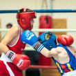 Competitions Boxing among Juniors — Stock Photo #33544977