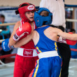 Competitions Boxing among Juniors — Stock Photo #33544981