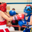Competitions Boxing among Juniors — Lizenzfreies Foto