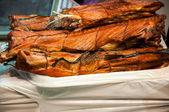 Fish smoked — Stock Photo