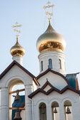 Orenburg şehir kutsal teslis kilisesi — Stok fotoğraf