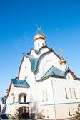 Orenburg stad Heilige Drievuldigheid Kerk — Stockfoto