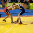 Stock Photo: Sports wrestling competition between boys