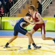 Foto de Stock  : Sports wrestling competition between boys
