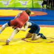 Stock Photo: Sports wrestling competition between girls