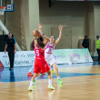 Basketball game RussiSpain — Stock Photo #39355133