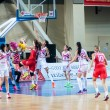 Basketball game RussiSpain — Stock Photo #39355165