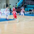 Basketball game RussiSpain — Stock Photo #39355353