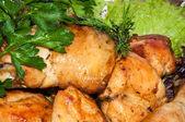 Chicken fried. — Stock Photo