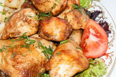 Pollo fritto. — Foto Stock