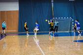 Uluslararası Hentbol Turnuvası orenburg bölgesi neplueva tutan ilk valisi anısına. — Stok fotoğraf