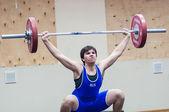 Ciężkiej atletyce, sztangista — Zdjęcie stockowe