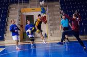 International handball tournament in memory of the first Governor of Orenburg province Neplueva — Stock Photo