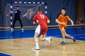 International handball tournament in memory of the first Governor of Orenburg province Neplueva — Stock Photo