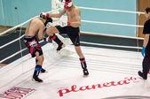 Gemengde vechtsporten... — Stockfoto