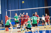 Competition to Volleyball — Stock Photo