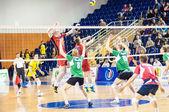 Competição de voleibol — Fotografia Stock