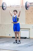 Heavy athletics, weightlifter... ... — Stockfoto