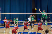 Competition to Volleyball. — Stock Photo
