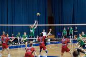 Соревнования по волейболу. — Стоковое фото