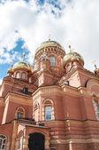 Kazansky Cathedral icon of the mother of God, Orenburg — Stock Photo