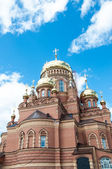 Kazansky Cathedral icon of the mother of God, Orenburg — Stock Photo
