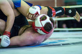 Volga Federal District Championship in mixed martial arts... ... — Stock Photo