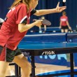 Competitions in table tennis — Stock Photo #46129457