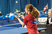 Competitions in table tennis — Zdjęcie stockowe