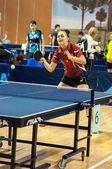 соревнования по настольному теннису — Стоковое фото