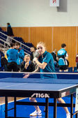 Competitions in table tennis — ストック写真