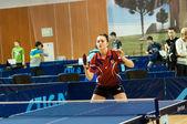 Competiciones de tenis de mesa — Foto de Stock