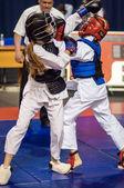 Kobudo competencia entre chicas — Foto de Stock