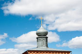 The dome of the Orthodox Church — Stock Photo