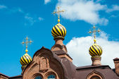 The dome of the Orthodox Church — Stock fotografie
