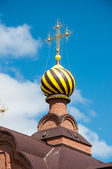 The dome of the Orthodox Church — Stockfoto