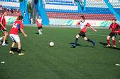 Fußball-spiel — Stockfoto