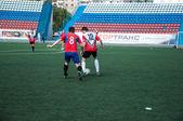 Soccer game, — Stock Photo